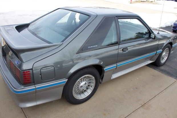 33k Mile 1987 Ford Mustang Gt 5 Speed Mustang Gt Ford Mustang Gt Ford Mustang