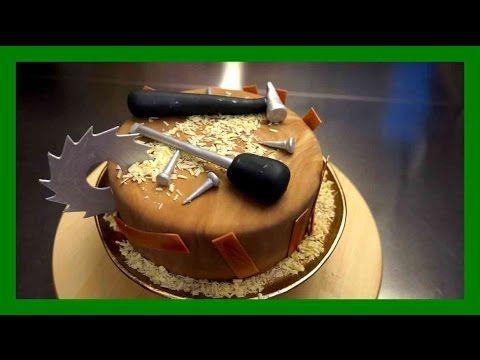 Schreinerhandwerker Torte  Einfache Schreiner