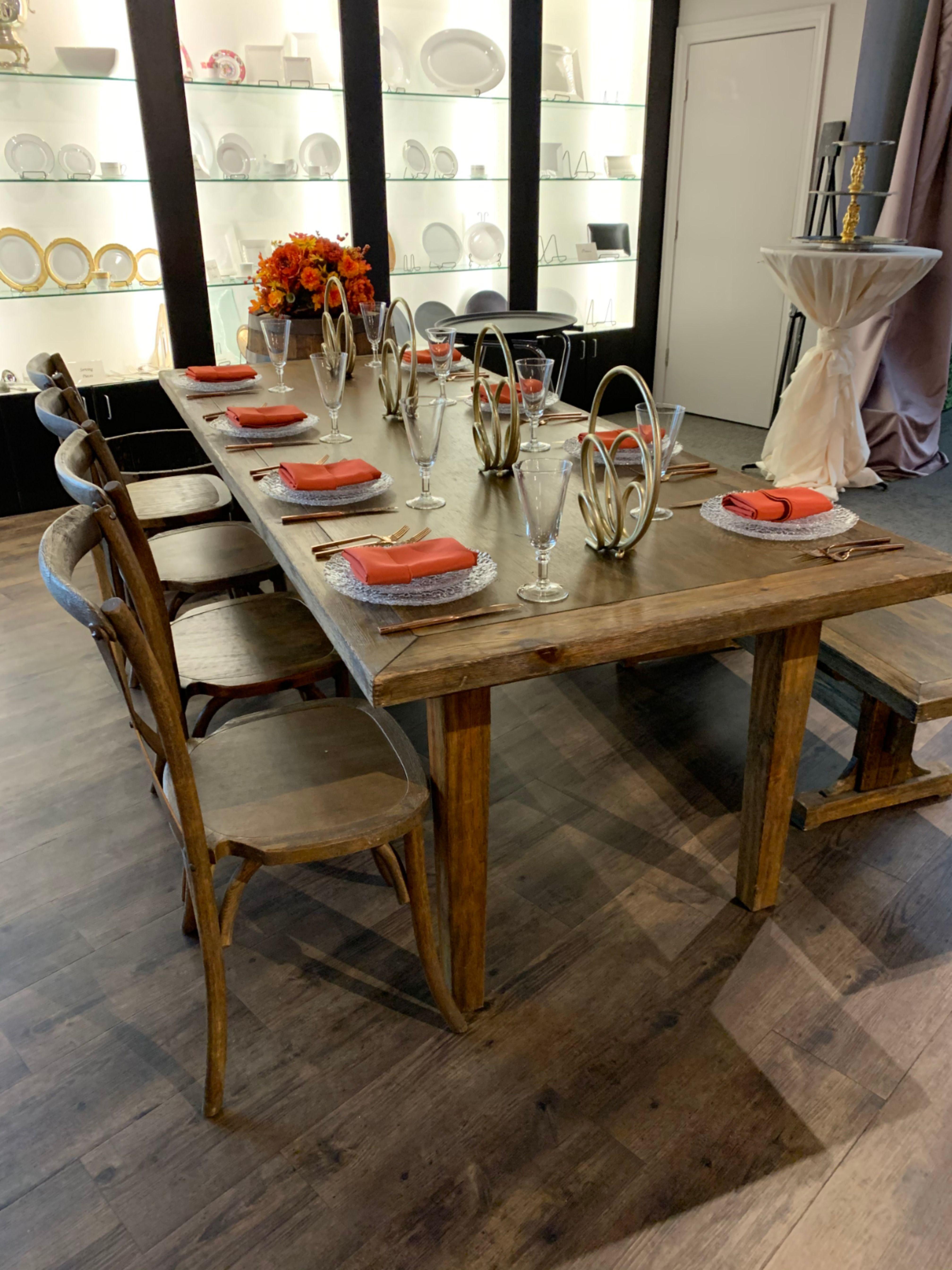 Beautiful Table Arrangement in WISEACRE Preferred Vendor