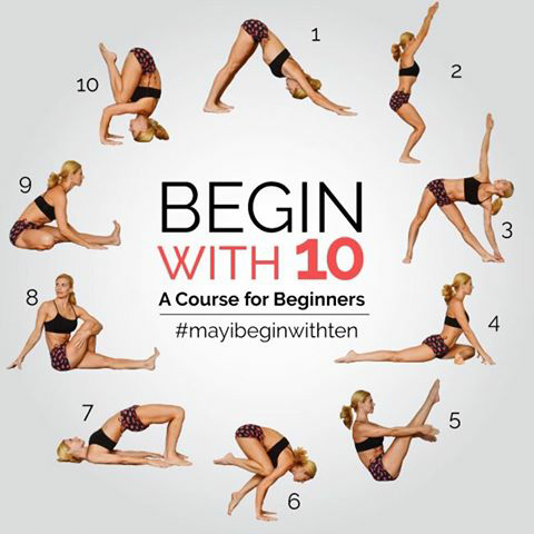 may beginner yoga challenge  y ga ॐ  pinterest  yoga