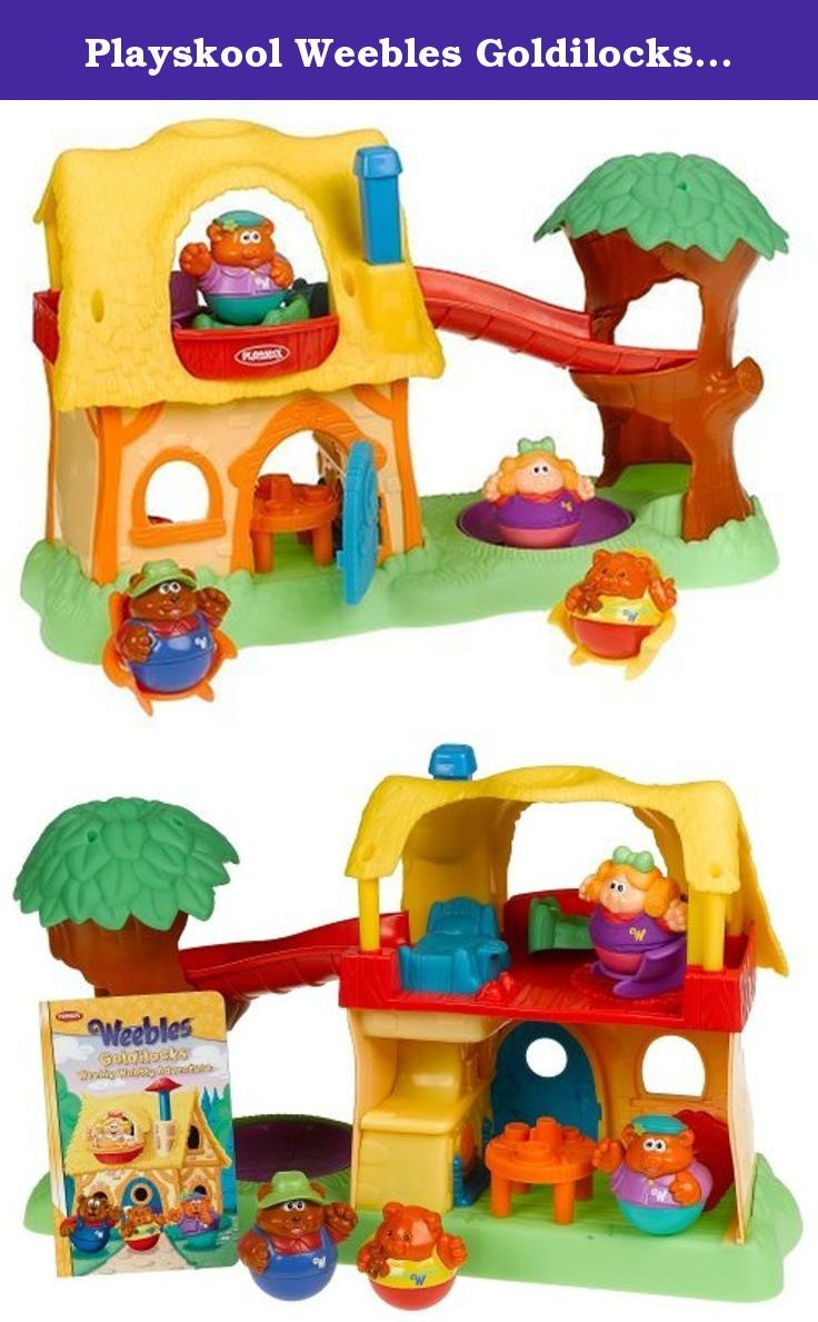 Playskool Weebles Musical Treehouse Part - 35: Playskool Weebles Goldilocks/ Adventure Cottage. Weebles Playset Comes With  Cottage, Goldilocks And Three