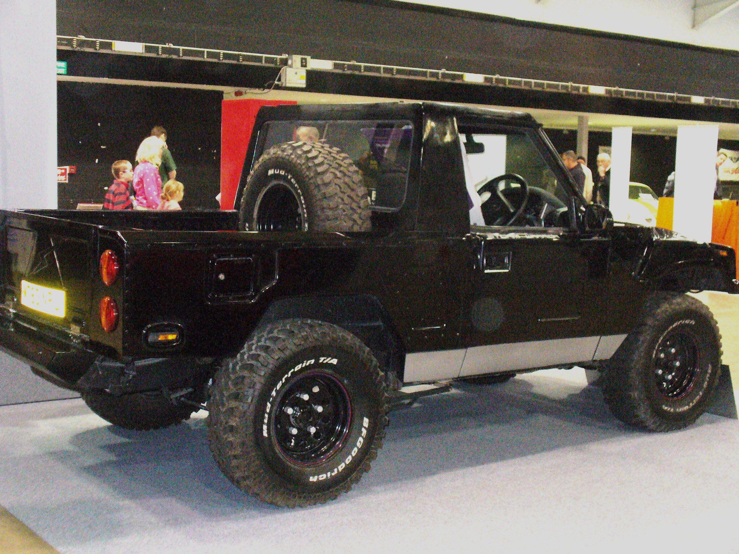 Landrover Discovery Mk1 Based Kit Car England Storm Warrior 2