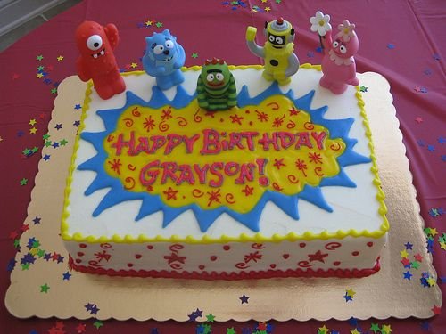 I love this cake yo gabba gabba for kendall pinterest yo i love this cake thecheapjerseys Choice Image