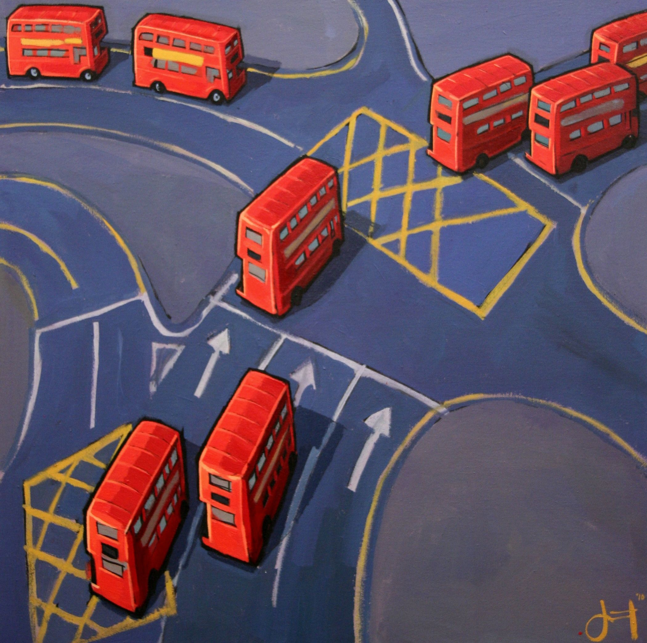 London Buses I  - Jim Edwards