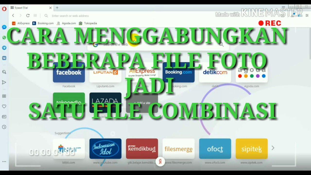 Mengkombinasi Berbagai File Foto Atau Pdf Youtube Video Sign