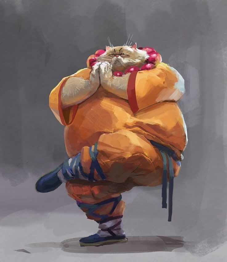 Kung Fu Cat By Bulat Iraliyev Looks Like A Tabaxi Monk To Me Fantasy Character Design Dungeons And Dragons Characters Fantasy Characters Tabaxi kensei monk build review. kung fu cat by bulat iraliyev looks