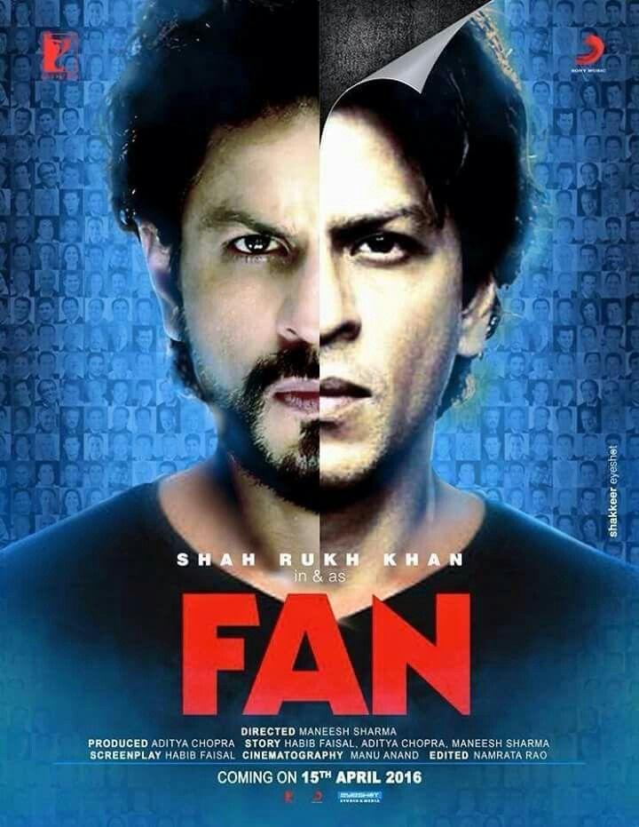 Fan 2016 Hindi 720p HEVC BluRay x265 AAC 750MB MSubs