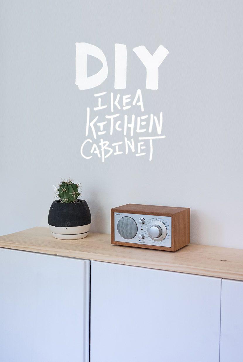 DIY Ikea Kitchen Cabinet << Mike Gilger // The Fresh Exchange | DIY ...