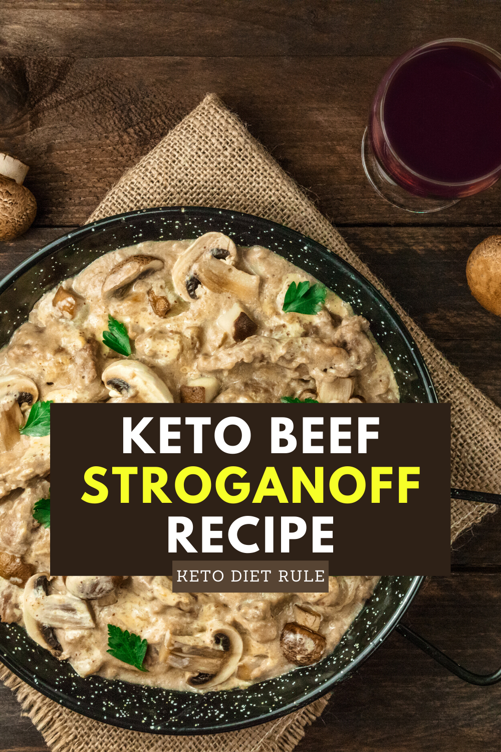 Beef Stroganoff Recipe With Sour Cream Gluten Free Keto Diet Rule Recipe In 2020 Beef Stroganoff Stroganoff Recipe Recipes