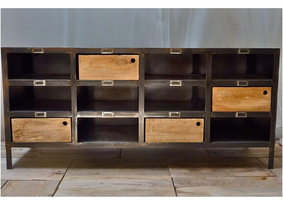 13 Primaire Buffet Industriel Occasion Shelving Unit Home Decor Shelving