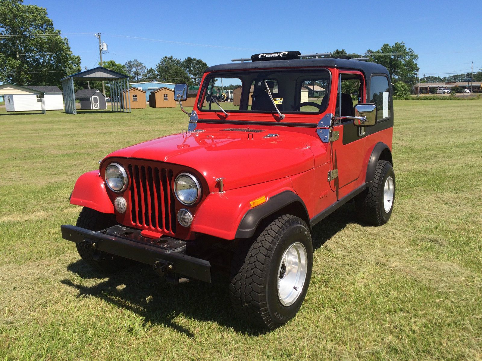 Car Brand Auctioned Jeep Cj Cj7 Automatic Hard Top Power Steering
