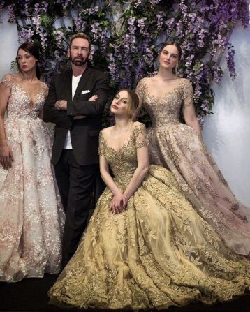 Stephen Yearick The New King Of Bridal Bridal Gorgeous Wedding