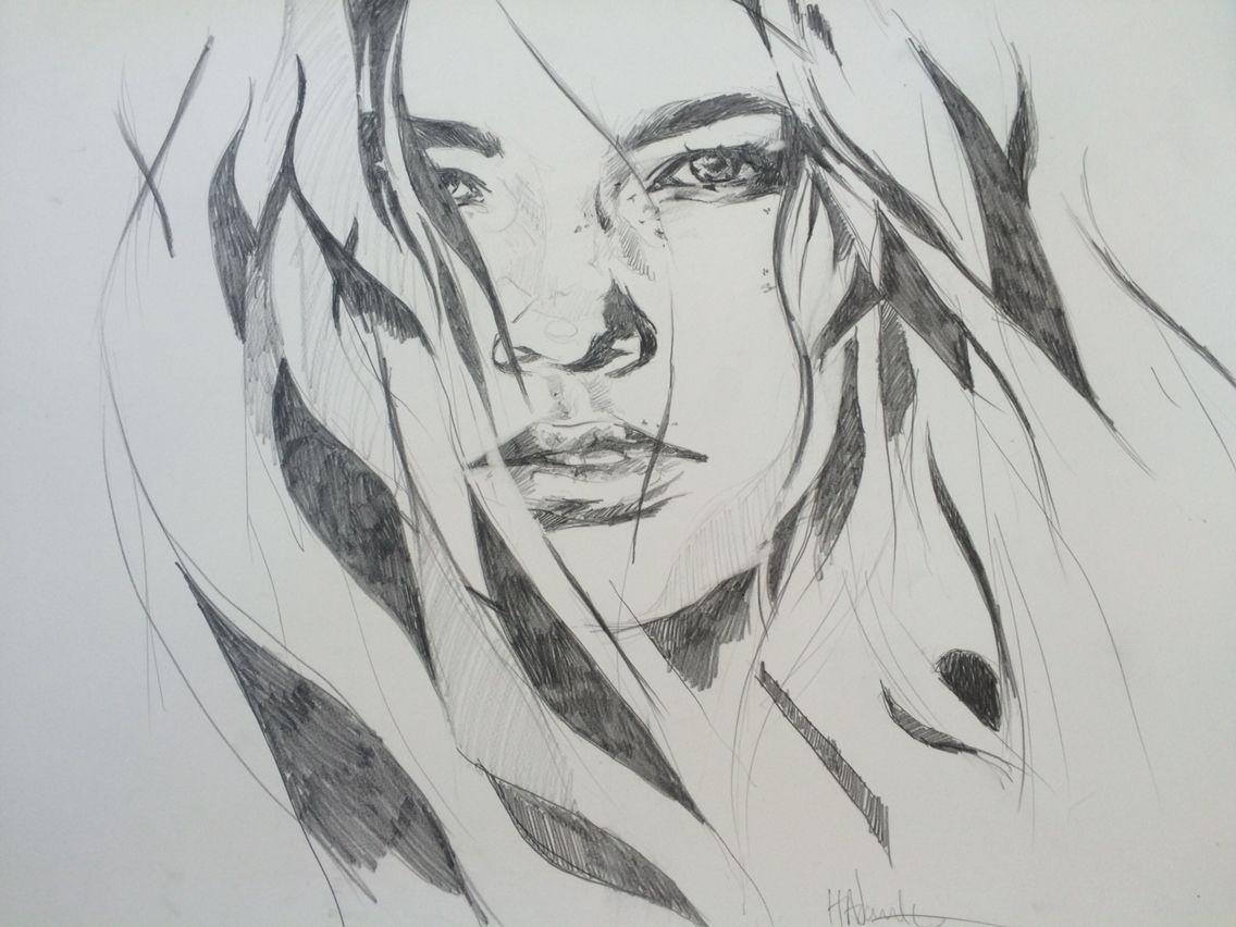 New pencil drawing from hannah adamaszek