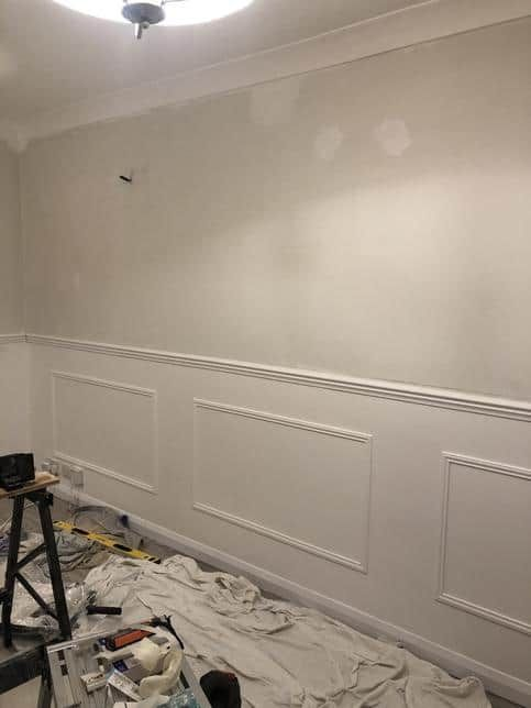DIY Wall Panelling Tutorial | Interior Design Blog Cloud ...