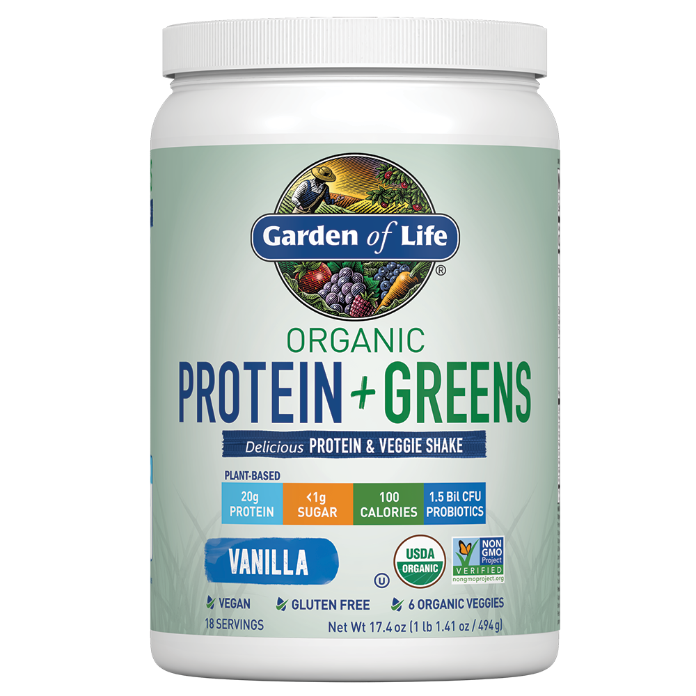 Green Protein Powder & Veggie Shake Garden of Life