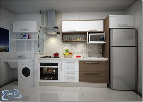 Cozinha E Lavanderia Modelos De Cocinas Cocinas Pequenas Cocinas