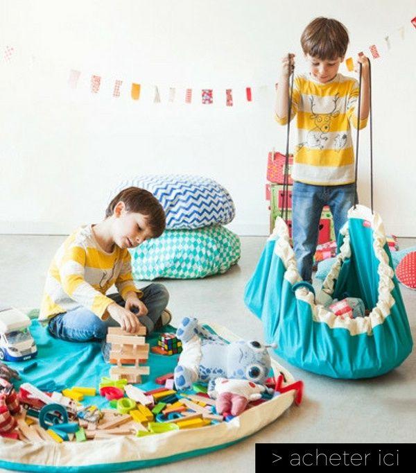 tapis de jeu sac de rangement play go bleu. Black Bedroom Furniture Sets. Home Design Ideas