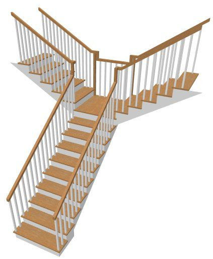 Best Creating A T Shaped Staircase Chief Architect Help 400 x 300