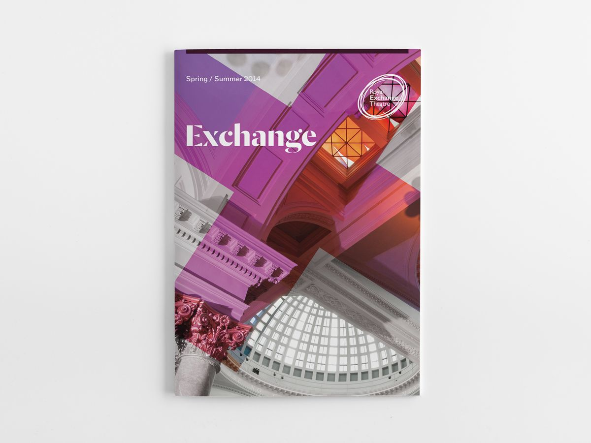 Royal Exchange Theatre — Instruct Studio — Design, Print and Digital in Manchester