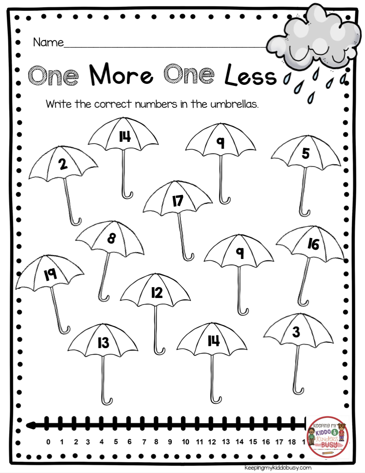 April In Kindergarten Free Worksheets Keeping My Kiddo Busy Spring Math Worksheets Free Kindergarten Worksheets Kindergarten Freebies