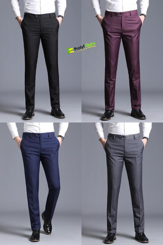 Shop Men S Slim Fit Dress Pants Online From Prolyfstyles Com Slim Fit Dress Pants Men Slim Fit Dress Pants Slim Fit Men [ 1500 x 1000 Pixel ]