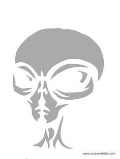 Alien jack o lantern i love halloween pinterest for Alien pumpkin pattern