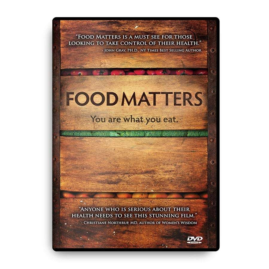 Food Matters DVD Food matters documentary, Health