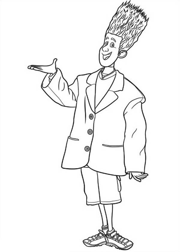 Introducing Jonathan From Hotel Transylvania Coloring Pages Bulk Color In 2020 Hotel Transylvania Coloring Pages Halloween Coloring Pages