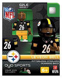 PITTSBURGH STEELERS~OYO Sports | Le'Veon Bell OYO minifgures