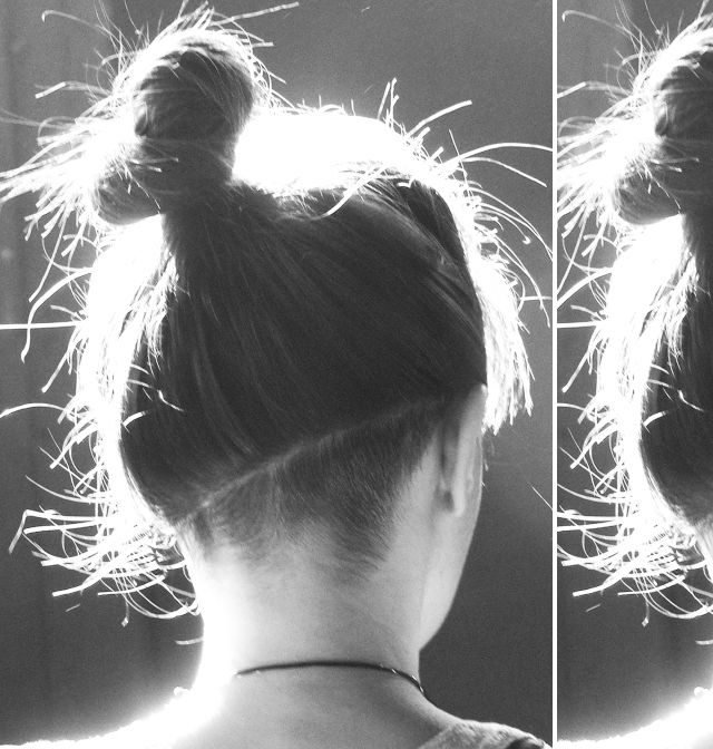 Undercut Bun love the angle