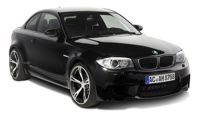 Ac Schnitzer Sapphire Black Bmw 1 Series M Coupe Front Right Side