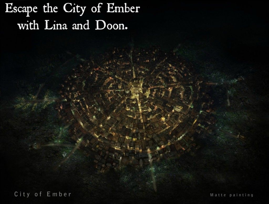 10 Items On My Fiction Bucket List City Of Ember Fiction Bucket List City