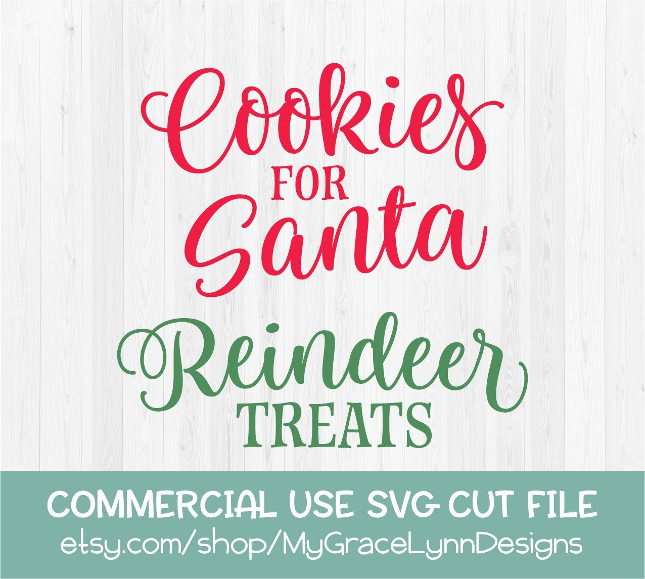Cookies for Santa SVG, Christmas SVG, Holiday tray, Dear