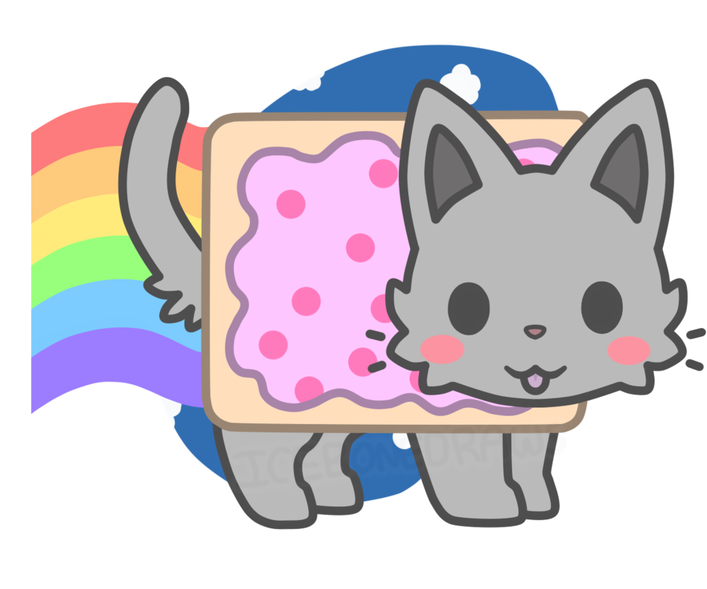 kawaii nyan cat Google Search Nyan cat, Chibi cat