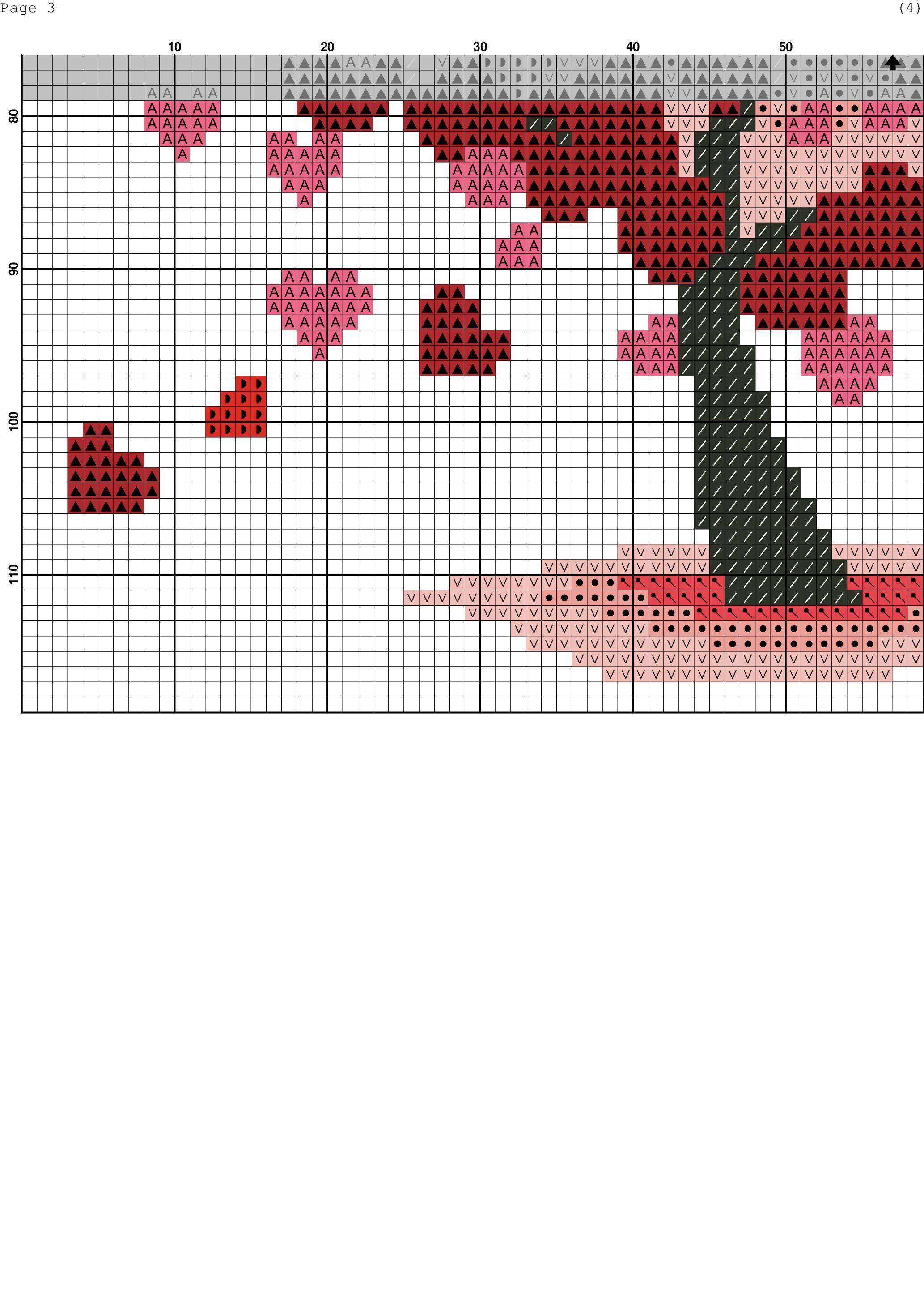 Red tree 2 | Bordado y punto de cruz | Pinterest