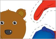 FREE Dress The Bear ----A game in which the bear can be dressed in different outfits depending on the season. Ideal to use when discussing different weather conditions