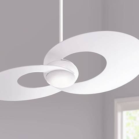 52 innovation white led ceiling fan fans pinterest white 52 innovation white led ceiling fan aloadofball Images