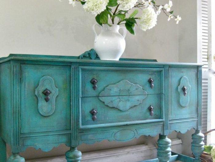 Comment repeindre un meuble? Une nouvelle apparence! Paint techniques - meuble en bois repeint