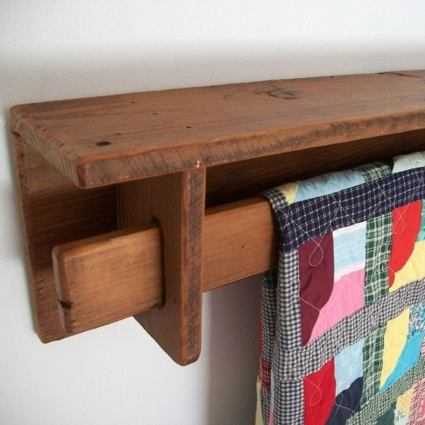 Furniture, Wooden Quilt Hangers For Walls: 12 Wooden Quilt Stand Design Ideas Woodworking For ...