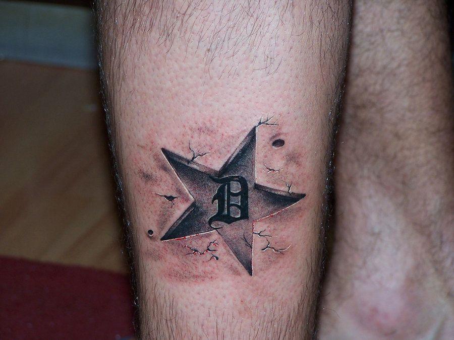 3 Small Stars Tattoo: 3D Star By JustTattoo On DeviantArt