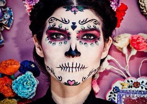 Maquillaje de catrines catrin catrina maquillaje c mo maquillar calavera muerte d a de - Maquillage dia de los muertos ...