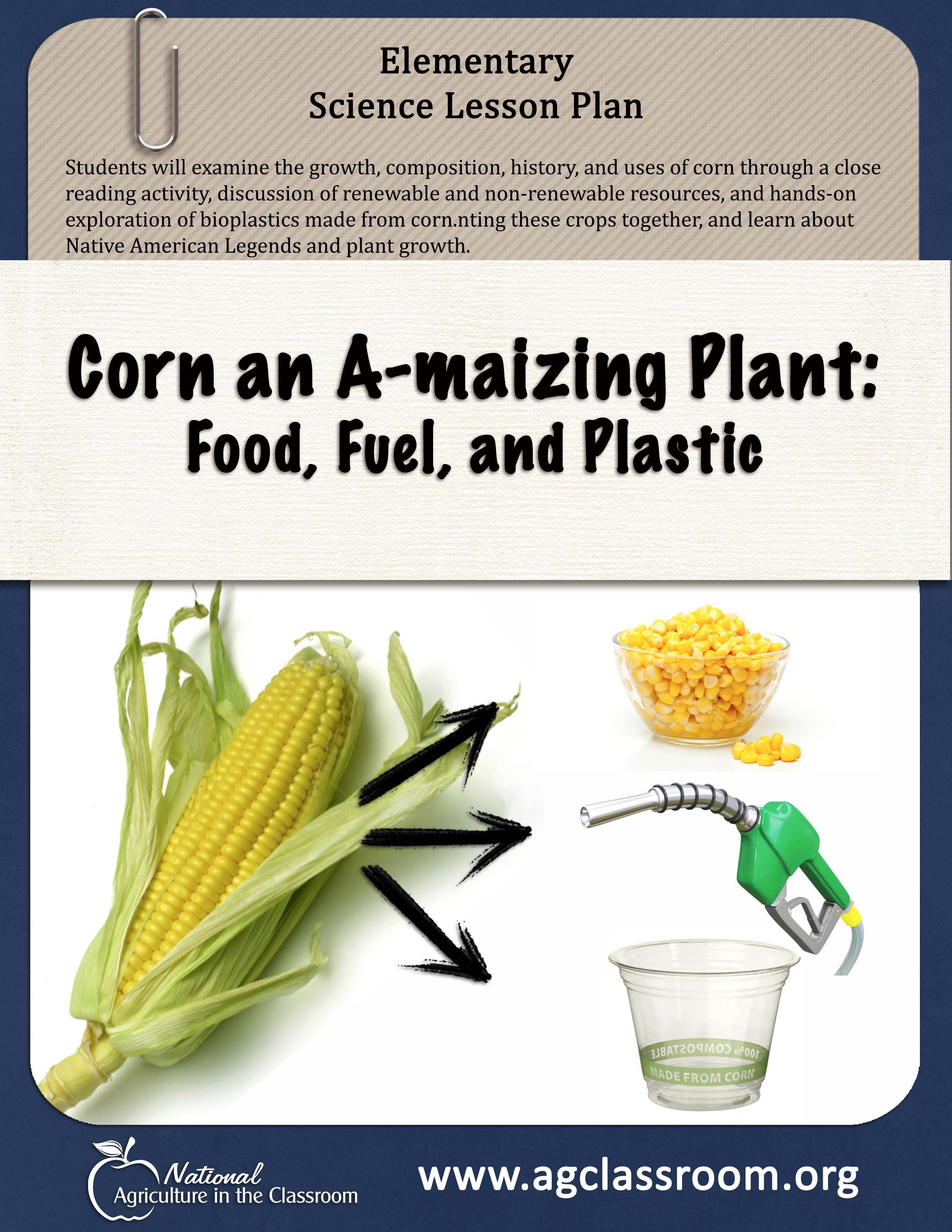 worksheet Renewable And Nonrenewable Resources Worksheets lesson plan teaching about renewable and non resources make plastic out of corn