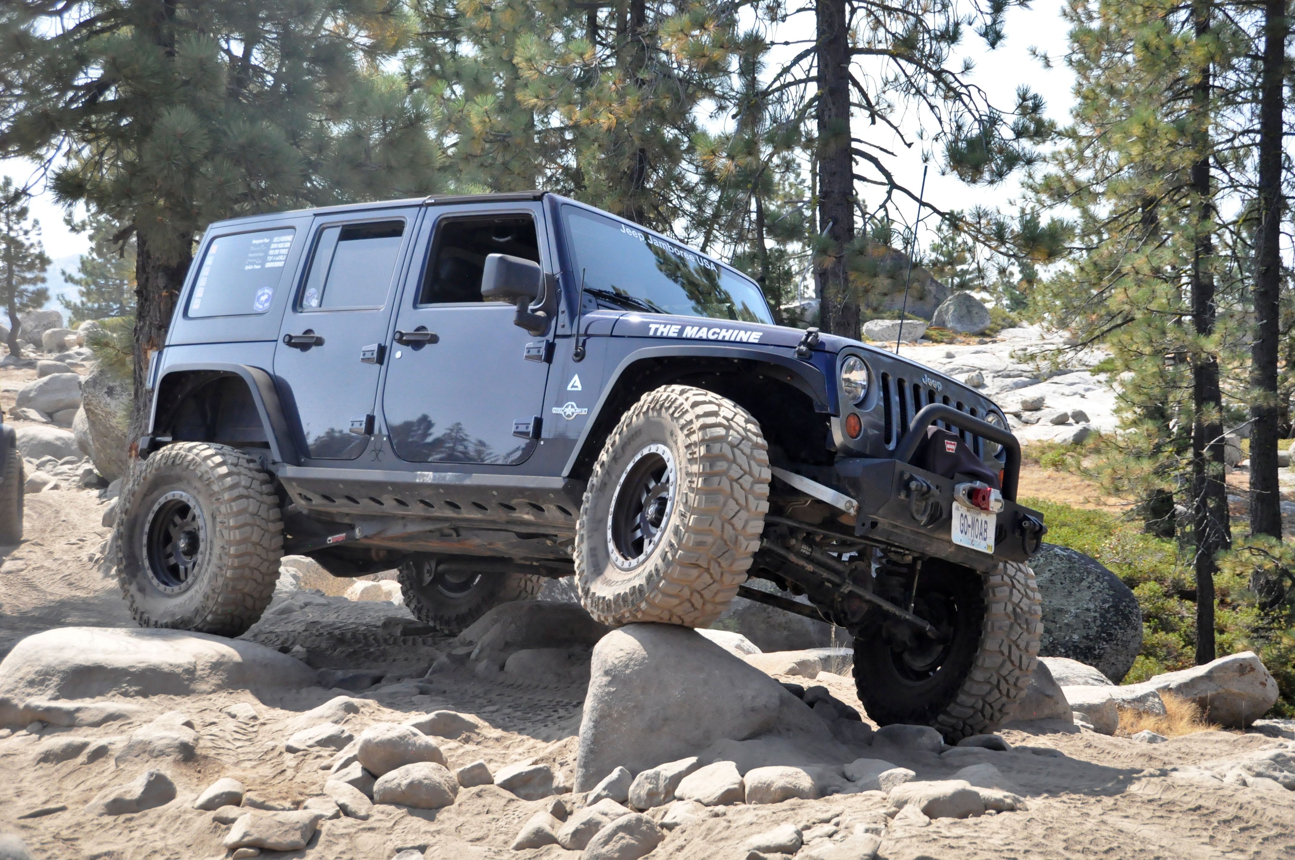I Didn T Buy A Jeep To Go Around Things Axleboy Offroad