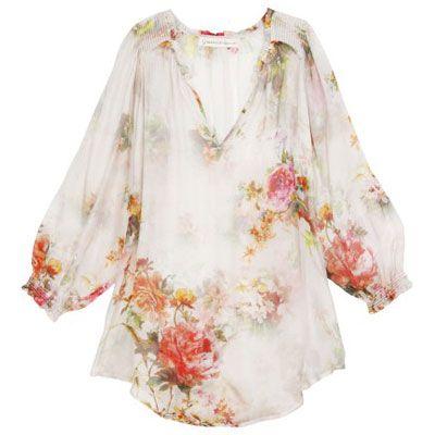 """""""Festival Bound"""", Graham + Spencer floral blouse #grahamandspencer #blouse #floral #bohemian #hippie #coachella #festival #california $259.00"""