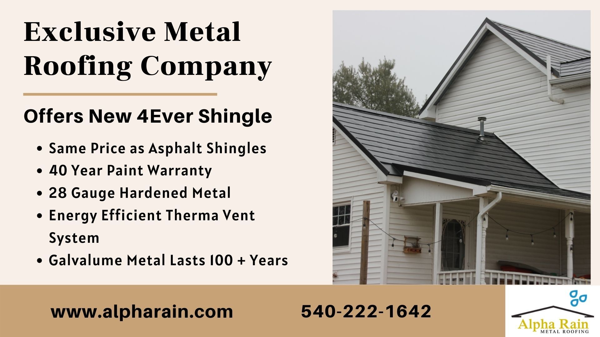 Specialized Metal Roofing Company Offering High Quality Metal Shingles In 2020 Metal Roof Metal Shingles Metal Roofing Systems