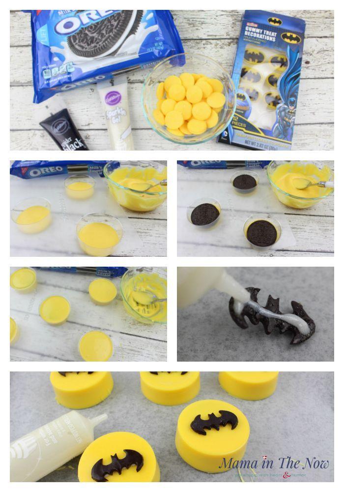 How to Make The Most Awesome LEGO Batman Oreos Lego batman Oreos