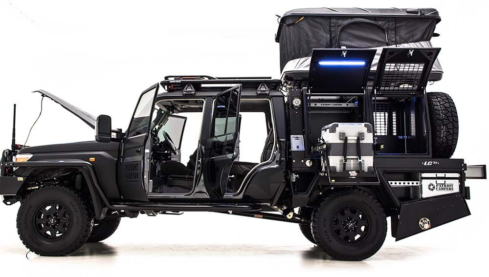Based On A Very Capable Offroad Platform With V8 Turbo Diesel
