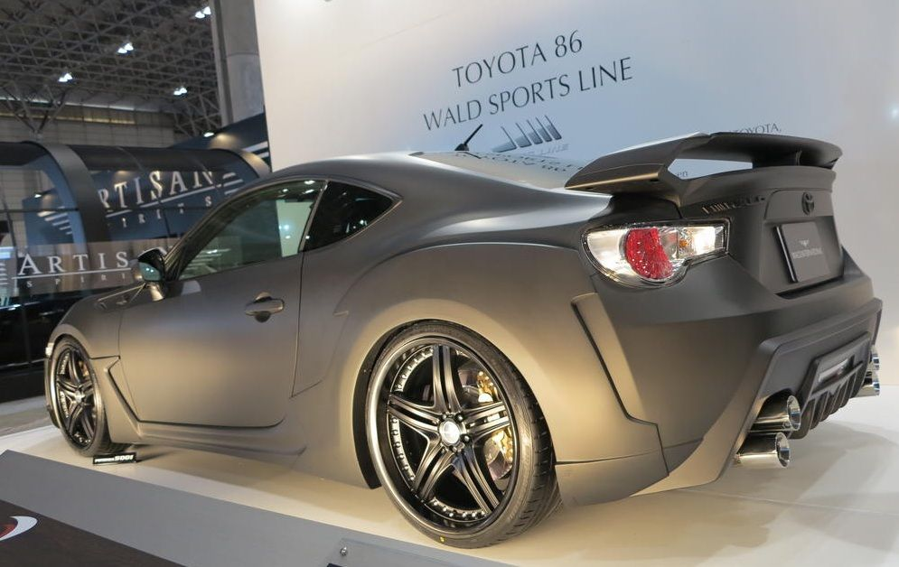 Delightful Wald Body Kit For Scion FR S At 2013 Tokyo Auto Salon Pictures