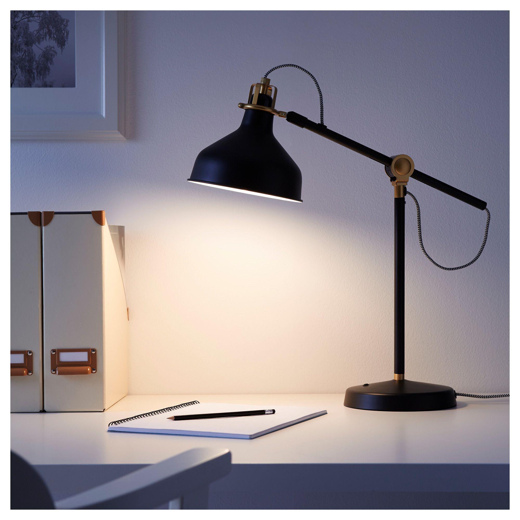 Ranarp Black Work Lamp Ikea Black Bedside Lamps Work Lamp Ikea Ranarp