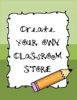 Classroom store everything you need classroom ideas pinterest this product includes photos of my classroom store classroom bucks templates maxwellsz